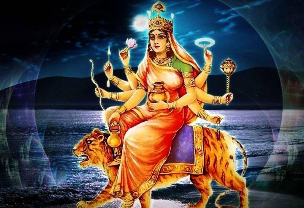 नवरात्रको चौंथो दिन कुष्माण्डा देवीको पूजा आराधना गरिँदै